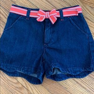 Gymboree Denim Shorts with Belt